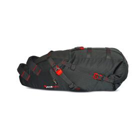 Acepac Saddle Bag Fietstas grijs/rood